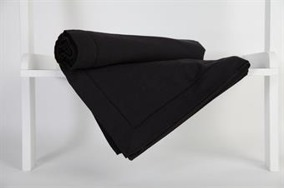 Hålsömsduk 150x250cm svart - Hålsöm  150x250cm Svart