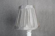 Lampskärm 6x11x10cm Grå