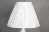 Lampskärm konisk 10x23x18 Vit