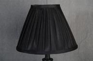 Lampskärm konisk 10x23x18 Svart