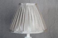 Lampskärm konisk 10x23x18 Grå