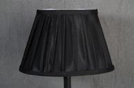 Lampskärm oval 16x25x17cm Svart