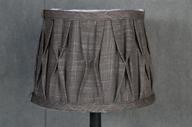 Lampskärm Rund Brun