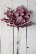 Vinröd Lotus på kvist Konstväxt