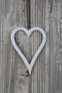 Vitt hängande hjärta