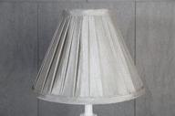 Grå Veckad Lampskärm 11x21x28cm