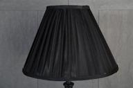 Svart Lampskärm 15x35x25cm