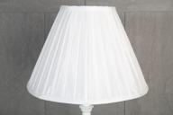 Vit Lampskärm 15x35x25cm