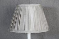 Lampskärm oval 16x25x17cm Grå