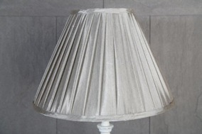 Grå Lampskärm 15x35x25cm - Grå