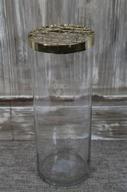 Vas med gallerlock H15 D10cm