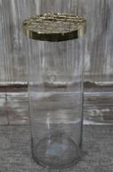 Vas med gallerlock H25 D10cm