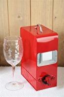Röd vinbox