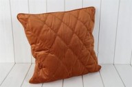 Orange Kuddfodral i sammet