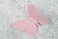 Fjäril i plåt 24x20cm