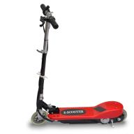 Röd El-scooter