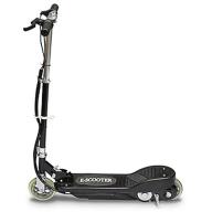 Svart El-scooter