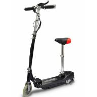 El-Scooter med sadel