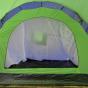 Campingtält för 9 personer blå/grönt