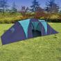 Campingtält för 9 personer blå