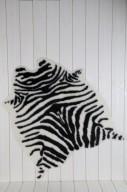 Konstgjort zebraskinn