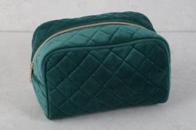 Blå/Grön Necessär 20x12x11cm - Blå/grön necessär