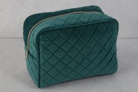Blå/grön Necessär 24x17x13cm - Blå/grön Necessär