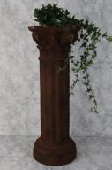 Brun pelare 80x28cm