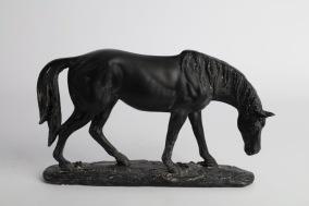 Betande häst 18x26cm