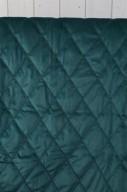 Grön/blått Överkast 180x270cm