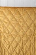 Guld/gult Överkast 270x270cm