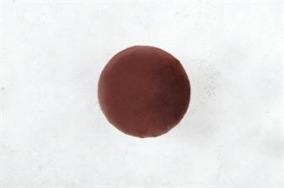 Bordeaux Hängare i sammet D5,5cm - Liten bordeaux sammetsknopp