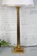 Lampfot Brass H56cm