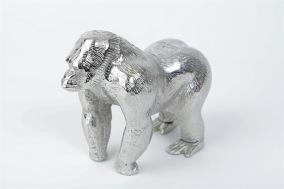 Chimpans 14x17cm - Silver chimpans