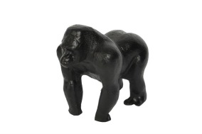 Chimpans 14x17cm - Svart chimpans