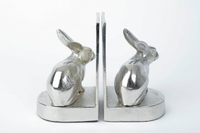 Bokstöd Hare - Silver