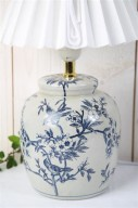 Lampfot Kina H18cm