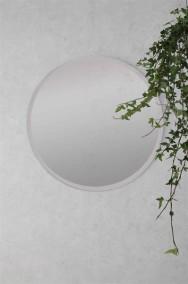 Rund spegel med klarglas D40cm - Klar