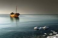 Poster Båt 21x30cm