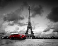 Poster Eiffeltornet 40x50cm