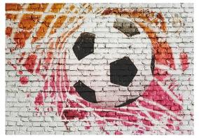 Fototapet Street football - B150xH105cm