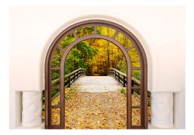 Fototapet - Door To Autumn - B150xH105cm