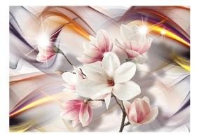 Fototapet - Artistic Magnolias - B150xH105cm