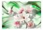 Fototapet - Magnolia - Green Wave - B400xH280cm
