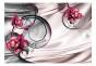 Fototapet - Orchids on satin - B400xH280cm