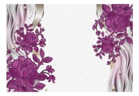 Fototapet - Purple buds - B150xH105cm