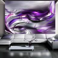 Fototapet - Purple Swirls