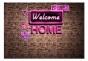 Fototapet - Welcome home - B400xH280cm
