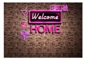 Fototapet - Welcome home - B150xH105cm