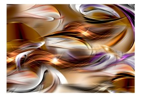 Fototapet - Amber sea - B150xH105cm